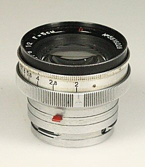 Thierry HACQUARD's collection of photographic devices: 50mm lenses