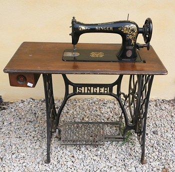 Ancienne Machine A Coudre Singer A Pedale les machines à coudre de thierry: singer 16k33 1918